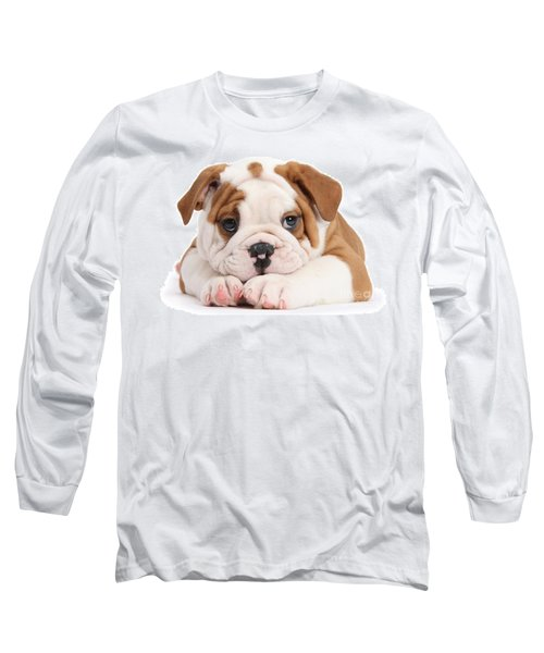 Po-faced Bulldog Long Sleeve T-Shirt