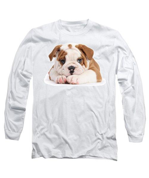 Po-faced Bulldog Long Sleeve T-Shirt