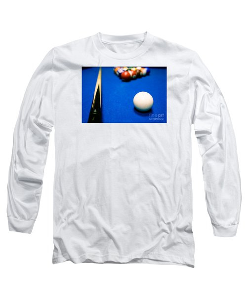 8 Ball Pool Table Long Sleeve T-Shirt