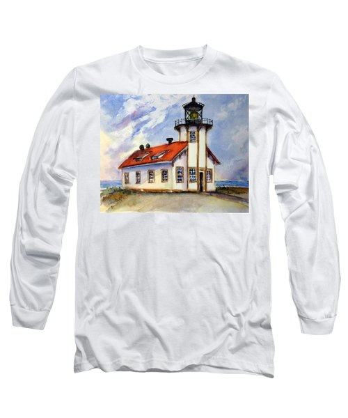 Point Cabrillo Light Station - Fort Bragg Long Sleeve T-Shirt