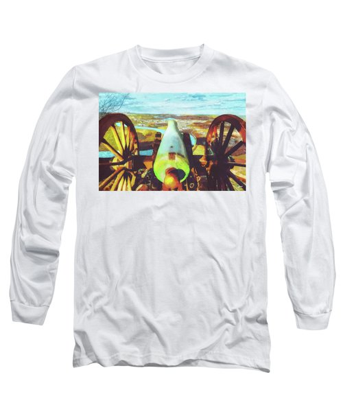 Point Park Cannon Long Sleeve T-Shirt by Steven Llorca