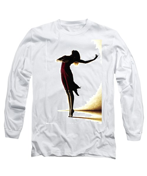 Poise In Silhouette Long Sleeve T-Shirt