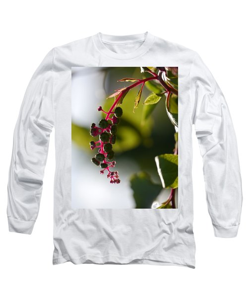Poke Sallet Anyone? Long Sleeve T-Shirt by Jane Ford