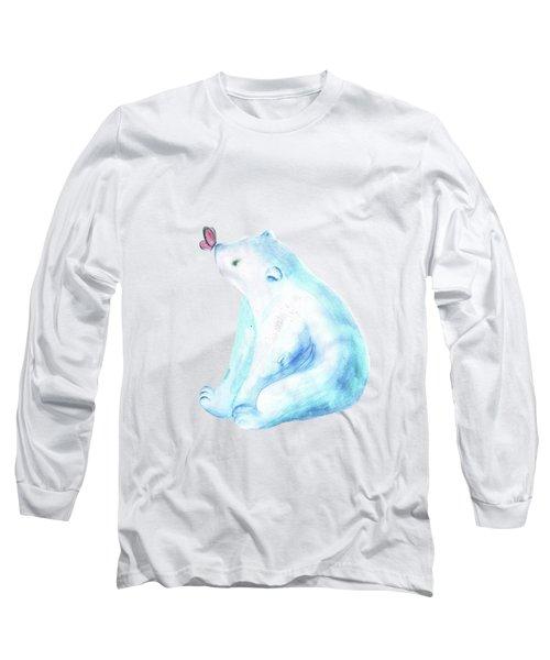 Polar Bear.nursery Decor Long Sleeve T-Shirt