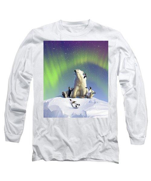Polar Opposites Long Sleeve T-Shirt