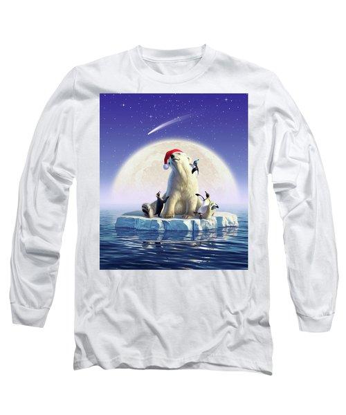 Polar Season Greetings Long Sleeve T-Shirt