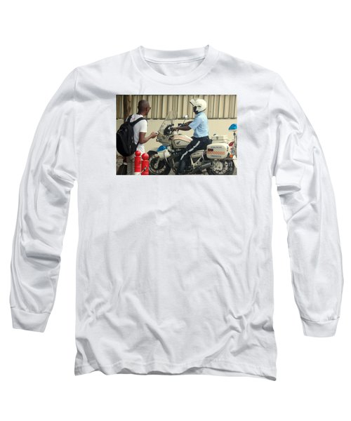 Police Escort Africa Long Sleeve T-Shirt