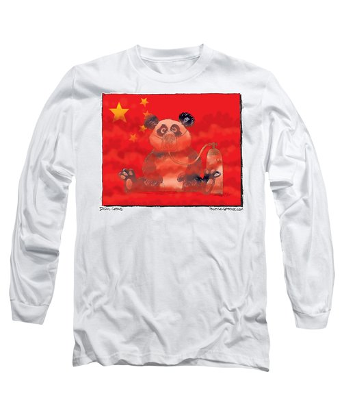 Pollution In China Long Sleeve T-Shirt