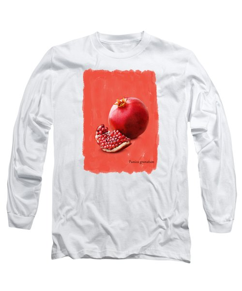 Pomegranate Long Sleeve T-Shirt