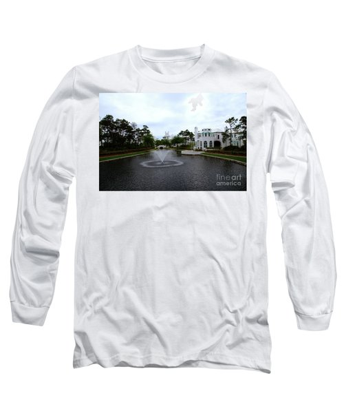 Pond At Alys Beach Long Sleeve T-Shirt
