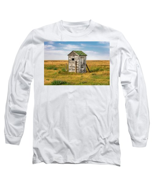 Pendroy Outhouse Long Sleeve T-Shirt