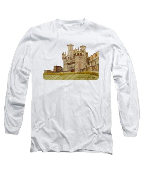 Ponferrada Templar Castle  Long Sleeve T-Shirt