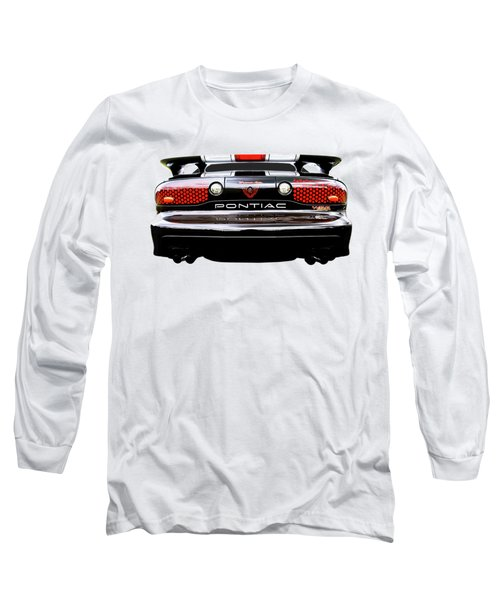 Pontiac Trans Am Rear Lights Long Sleeve T-Shirt