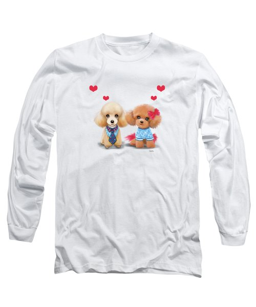 Poodles Are Love Long Sleeve T-Shirt