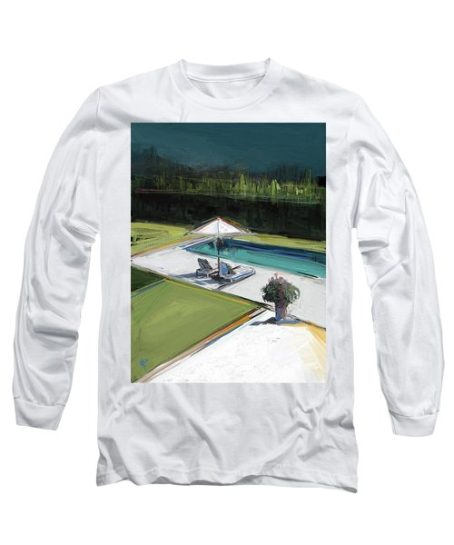 Poolside Long Sleeve T-Shirt
