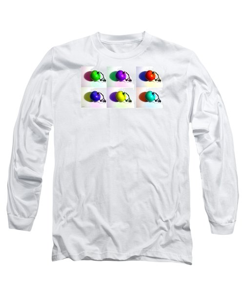 Long Sleeve T-Shirt featuring the photograph Pop-art Tomatoes by Shawna Rowe