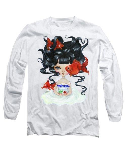 Pop-eyed Goldfish Long Sleeve T-Shirt