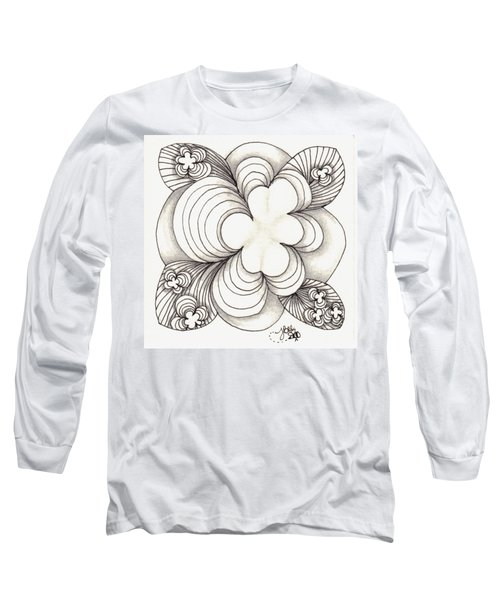 Popcloud Blossom Long Sleeve T-Shirt by Jan Steinle
