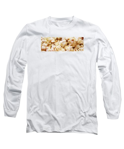 Popcorn 2 Long Sleeve T-Shirt by Martin Cline