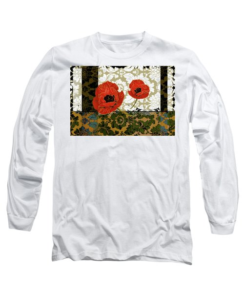 Poppies 6 Long Sleeve T-Shirt