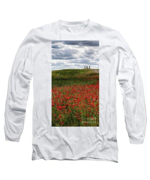 Poppy Field Long Sleeve T-Shirt