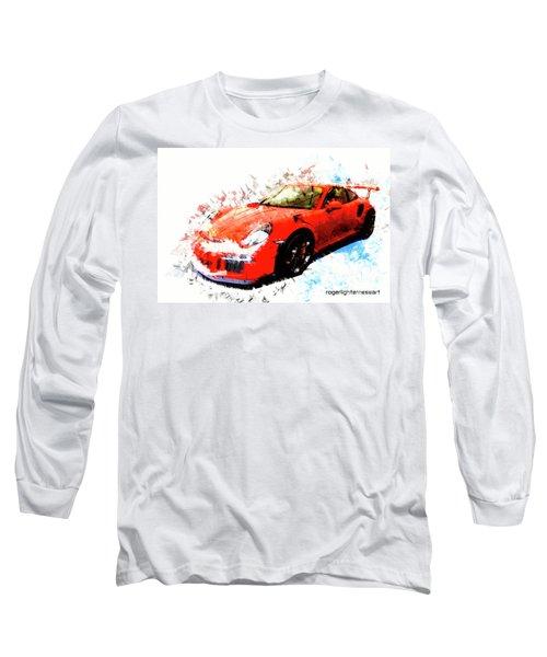 Porsche 911 Gts Long Sleeve T-Shirt