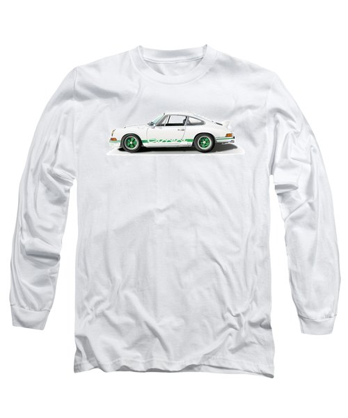 Porsche Carrera Rs Illustration Long Sleeve T-Shirt