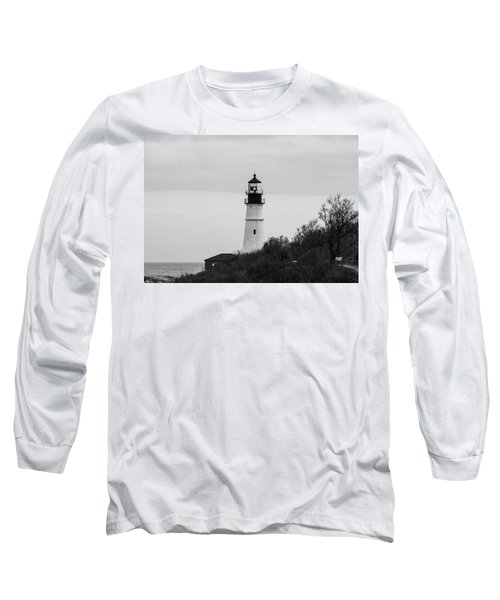 Long Sleeve T-Shirt featuring the photograph Portland Head Light by Trace Kittrell