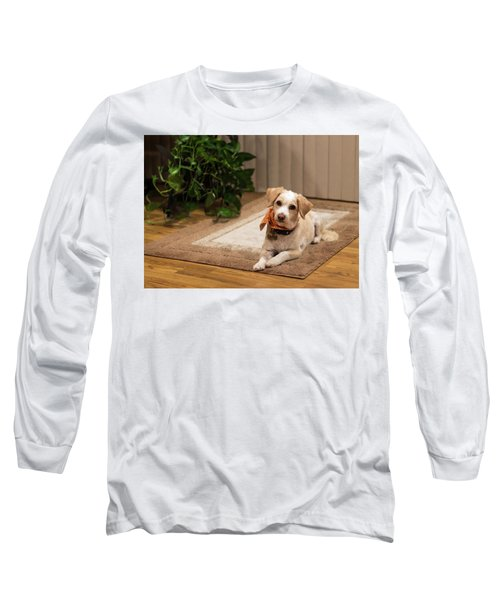 Portrait Of A Dog Long Sleeve T-Shirt