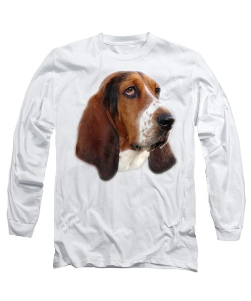 Long Sleeve T-Shirt featuring the photograph Portrait Of A Dog by George Atsametakis