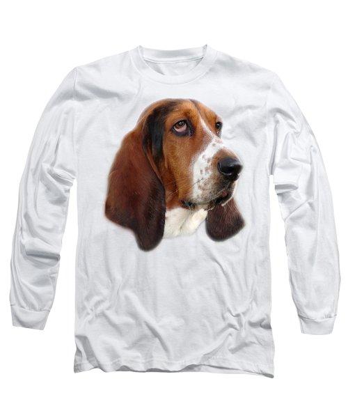 Portrait Of A Dog Long Sleeve T-Shirt