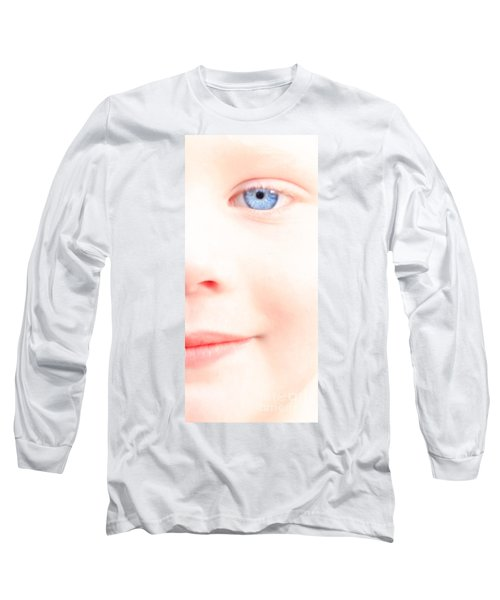 Portrait Of A Smile Long Sleeve T-Shirt by Bob Orsillo