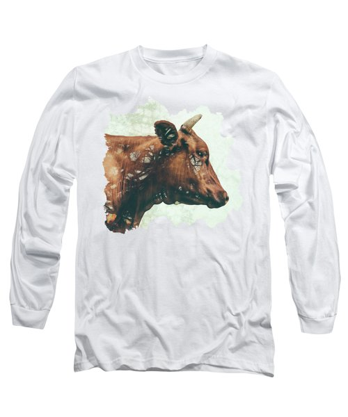 Portrait Of Bess Long Sleeve T-Shirt by Katherine Smit