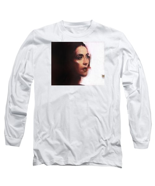 Portrait Of Martha Graham Long Sleeve T-Shirt