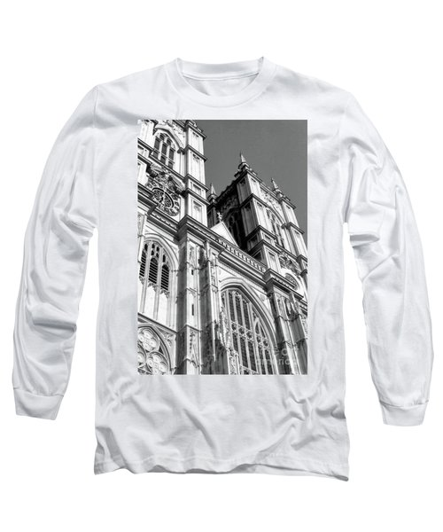 Portrait Of Westminster Abbey Long Sleeve T-Shirt