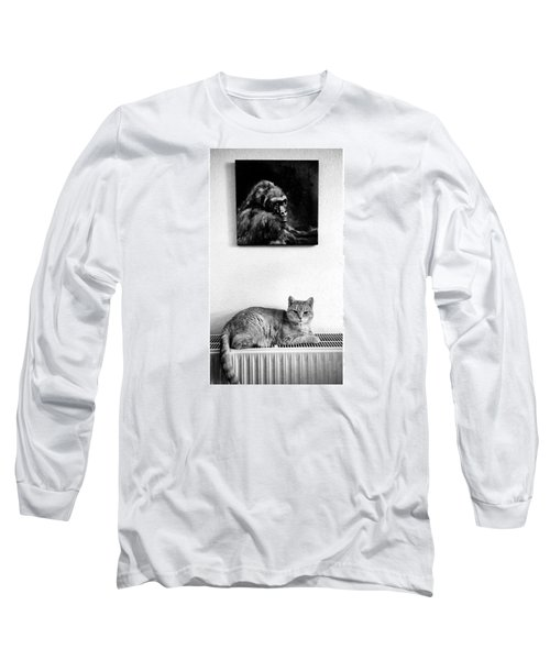 Portraitiere Mich. Jetzt.  #imhotep Long Sleeve T-Shirt
