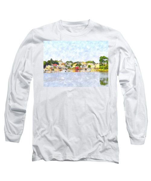 Portsmouth Nh South End Psewc Long Sleeve T-Shirt by Jim Brage