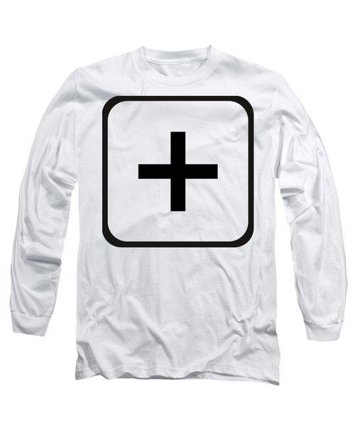 Long Sleeve T-Shirt featuring the digital art Positive Art by Robert G Kernodle