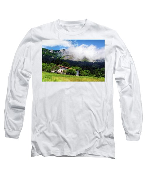 Postcard From Basque Country Long Sleeve T-Shirt