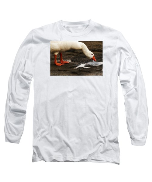Long Sleeve T-Shirt featuring the photograph Pot Hole 01 by Kevin Chippindall