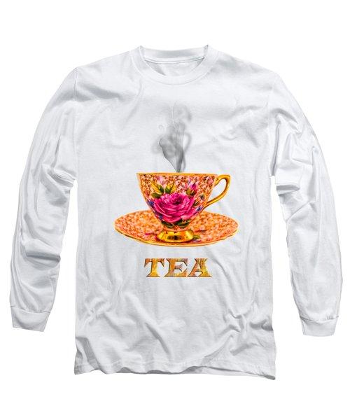 Potty About Tea Long Sleeve T-Shirt