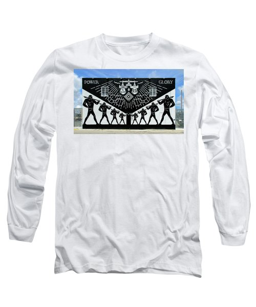 Power And Glory Long Sleeve T-Shirt by Keith Armstrong