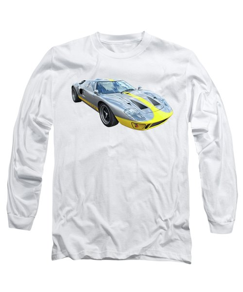 Power And Performance - Ford Gt40 Long Sleeve T-Shirt