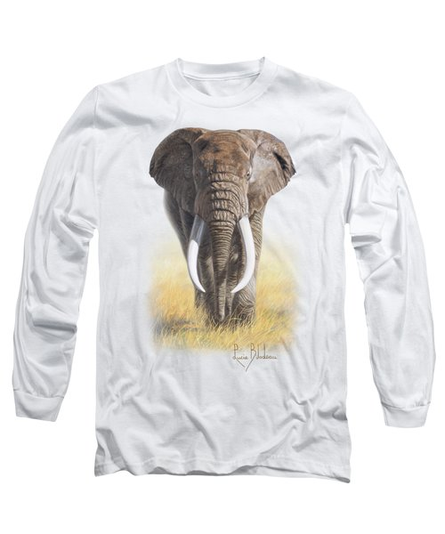 Power Of Nature Long Sleeve T-Shirt by Lucie Bilodeau