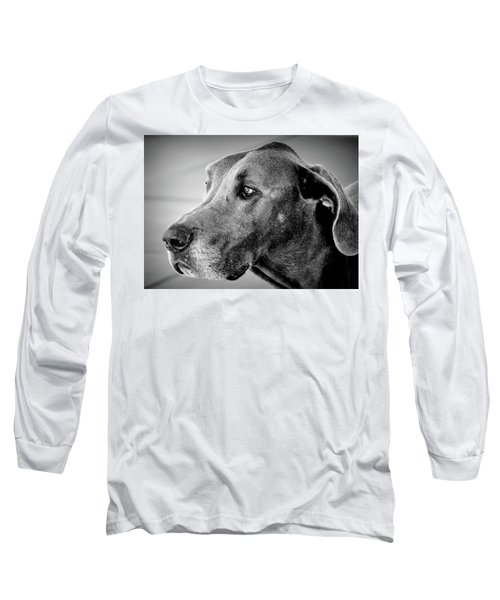 Powerful Majesty Long Sleeve T-Shirt by Barbara Dudley