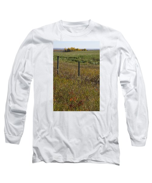 Prairie Autumn Long Sleeve T-Shirt
