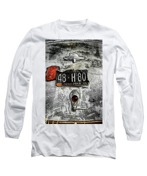 Prairie Schooner Long Sleeve T-Shirt by Jeffrey Jensen