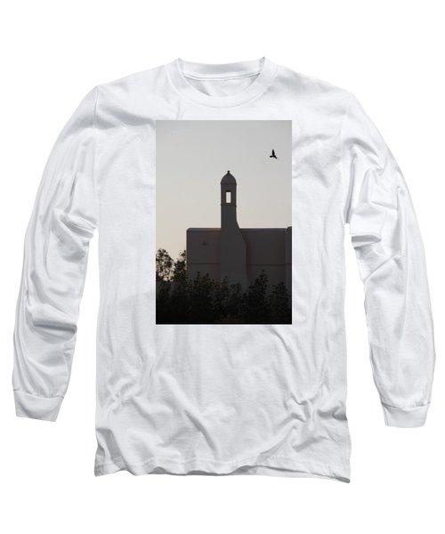 Prayer Flight Long Sleeve T-Shirt by Jez C Self