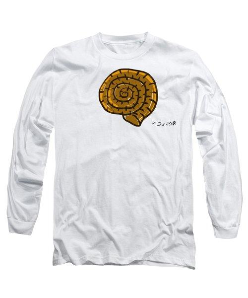 Prehistoric Shell Long Sleeve T-Shirt
