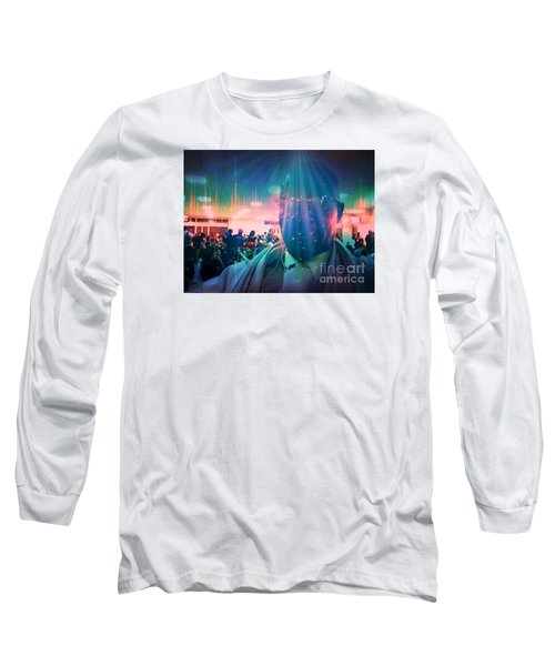 Long Sleeve T-Shirt featuring the photograph Presence by Fania Simon